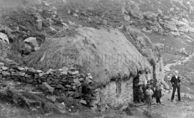 A croft cottage in Mallaig  the Highlands