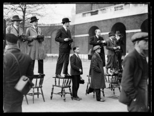 Press photographers  c 1935.