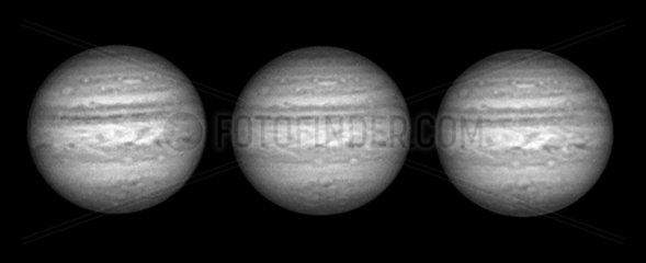 Jupiter in infrared light  2005.