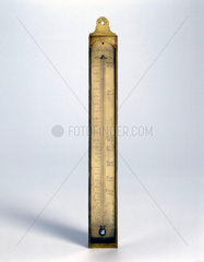 Mercury in glass thermometer  1775-1785.