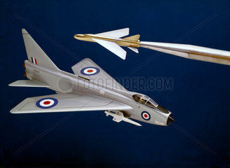 English Electric Lightning  1949-1959.