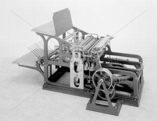 Koenig and Bauer's stop cylinder printing press  1905.