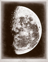 'Inverted Last Quarter' of the Moon  1868.