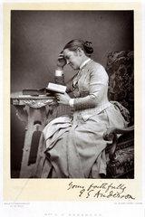Elizabeth Garret Anderson  doctor  c 1880s.