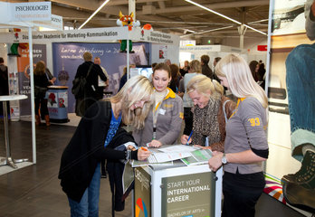 Dortmund  Deutschland  Abiturientenmesse Einstieg Abi