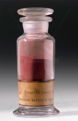 Synthetic orange colorant  c 1900.