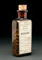 Migraine tablets.