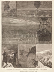 'Through the Clouds by Day and Night'  1881.