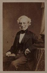 Alphonse de Brebisson  French botanist  c 1863.