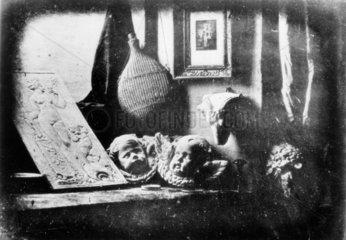 Earliest existing daguerreotype  1837.