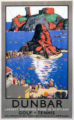 'Dunbar'  LNER poster  1923-1947.