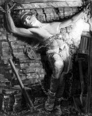 'Symbolic: The Miner 'Enslaved'  1938.