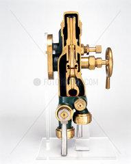 Combination locomotive injector  c 1884.