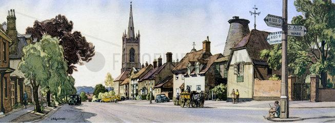 Bishop's Stortford  Hertfordshire  1948-1965.