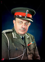 'Colonel Nordlie  ADC to the King of Norway'  c 1943.