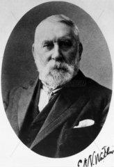 Sir Edward Watkin  c 1880s.