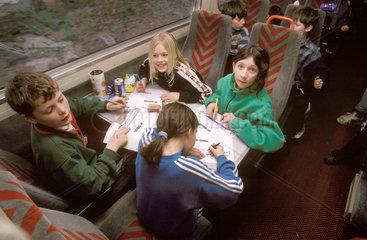 Travelling classroom  1998.