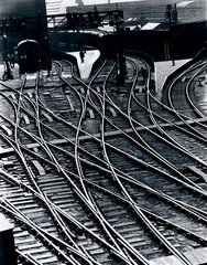 'Lines of Communication'  King's Cross Station  London  1938.