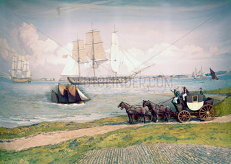 Transport in the late 18th century.