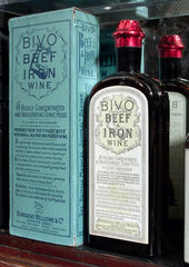 Bivo beef and iron wine  late 19th early 20th century.