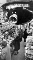 Anti-shoplifting camera in a chemist's shop  December 1968.