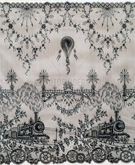 Lace made for the Universal Exhibition  Paris  1900.