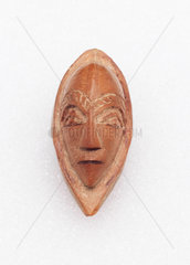 Amulet in the shape of a head  Zaire.