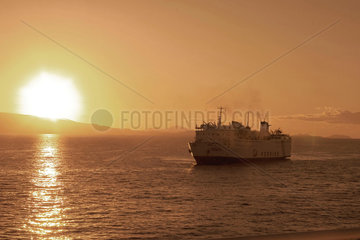 'The Crossing'  (sailing from Piraeus)  2004.