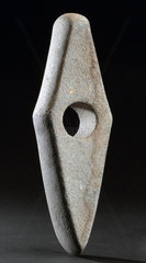Stone axe hand tool  European  Stone Age  8500-2000 BC.