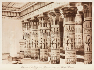 Philae Portico  Egyptian Museum  the Crystal Palace  London  1911.