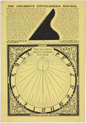 'The Children's Encyclopedia Sundial'  c 1930-1935.
