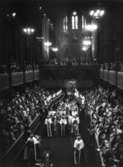 Coronation of George VI  Westminster Abbey  London  12 May 1937.