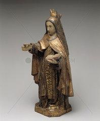 Statue of St Teresa of Avila  1701-1800.