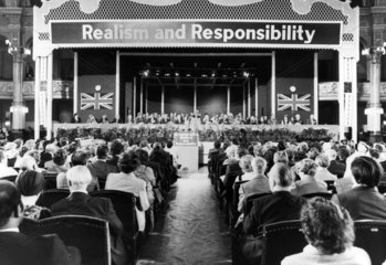 Conservative Party Conference  October 1979.