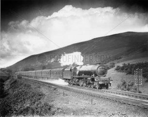 'Princess Margaret Rose'  steam locomotive  Westmoreland  1936.