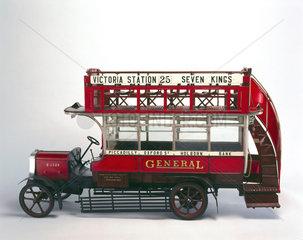 'B' type motor omnibus  1910-1921.