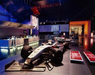Mika Hakkinen's crashed Formula One racing car  Science Museum  2000.