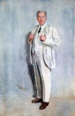 'Claude Goodman Johnson'  British businessman  1919.