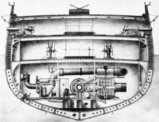 HMS 'Warrior'  1860.