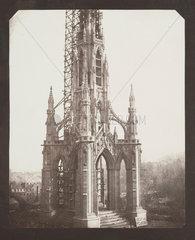 Sir Walter Scott's Monument  Edinburgh  Mid-October 1844.