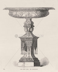 'Cast iron vase  Mr Handyside'  1851.