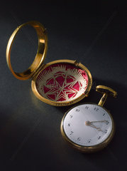 Pocket watch belonging to J C Lettsom. 1774-1802.