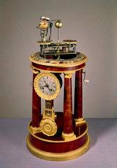 Raingo orrery clock  French  1830-1832.