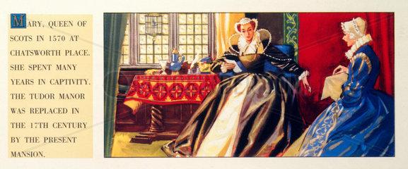Mary  Queen of Scots  1570  (c 1950s).