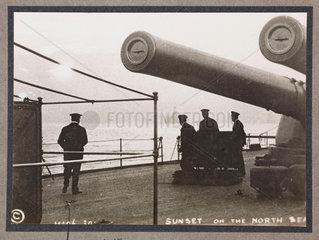 'Sunset on the North Sea'  c 1916.
