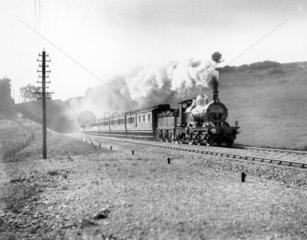 One of William Dean's elegant 4-2-2 locomot