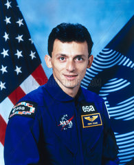 Pedro Duque  ESA astronaut  September 1996.
