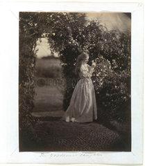 'The Gardener's Daughter'  1867.