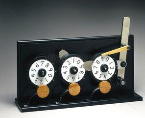 Mechanical counter  2001.