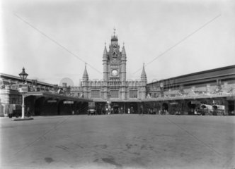 Bristol Temple Meads Station  20 July 1926.